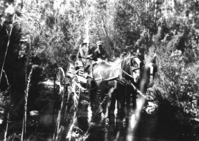 Getting to Currarong 1932